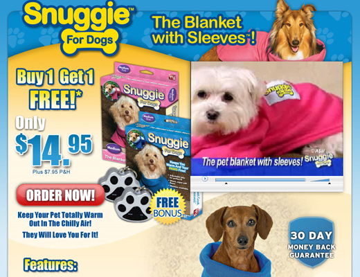 smuggie for dogs Snuggie for Dogs