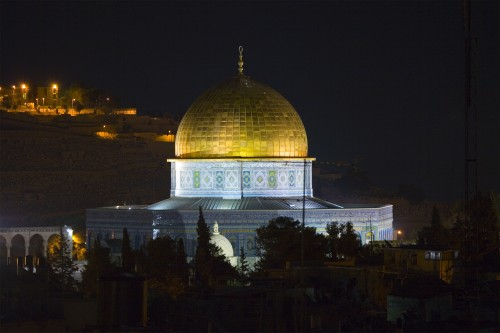 dome of the rock jerusalem e1299815562817 More UFOs spotted in the USA and Israel