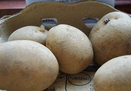 potatoes 10 Poisonous Fruit & Veg That We Actually Eat Every Day